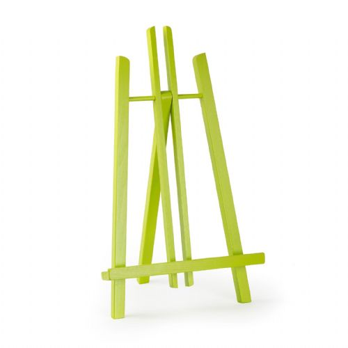 "Lime Colour Easel Kent 20"" - Beech Wood"